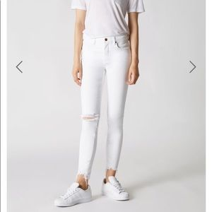 new Blank NYC white jeans